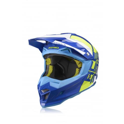 Шолом ACERBIS PROFILE 4 синій/жовтий