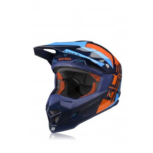 Шолом ACERBIS PROFILE 4 синій/помаранчевий