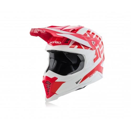 Шолом ACERBIS X-RACER VTR червоний/білий