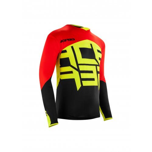 Джерсі ACERBIS ALFA X-FLEX чорний-червоний