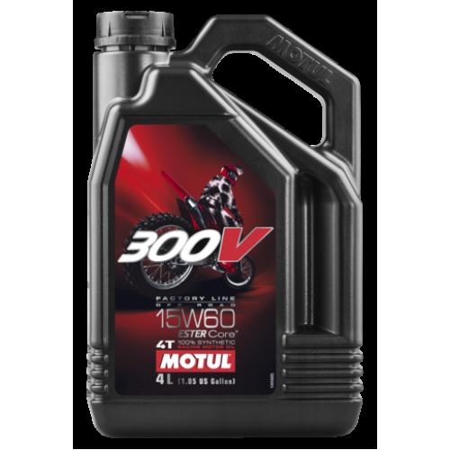 Масло MOTUL 300V FACTORY LINE OFF ROAD 15W60 4L