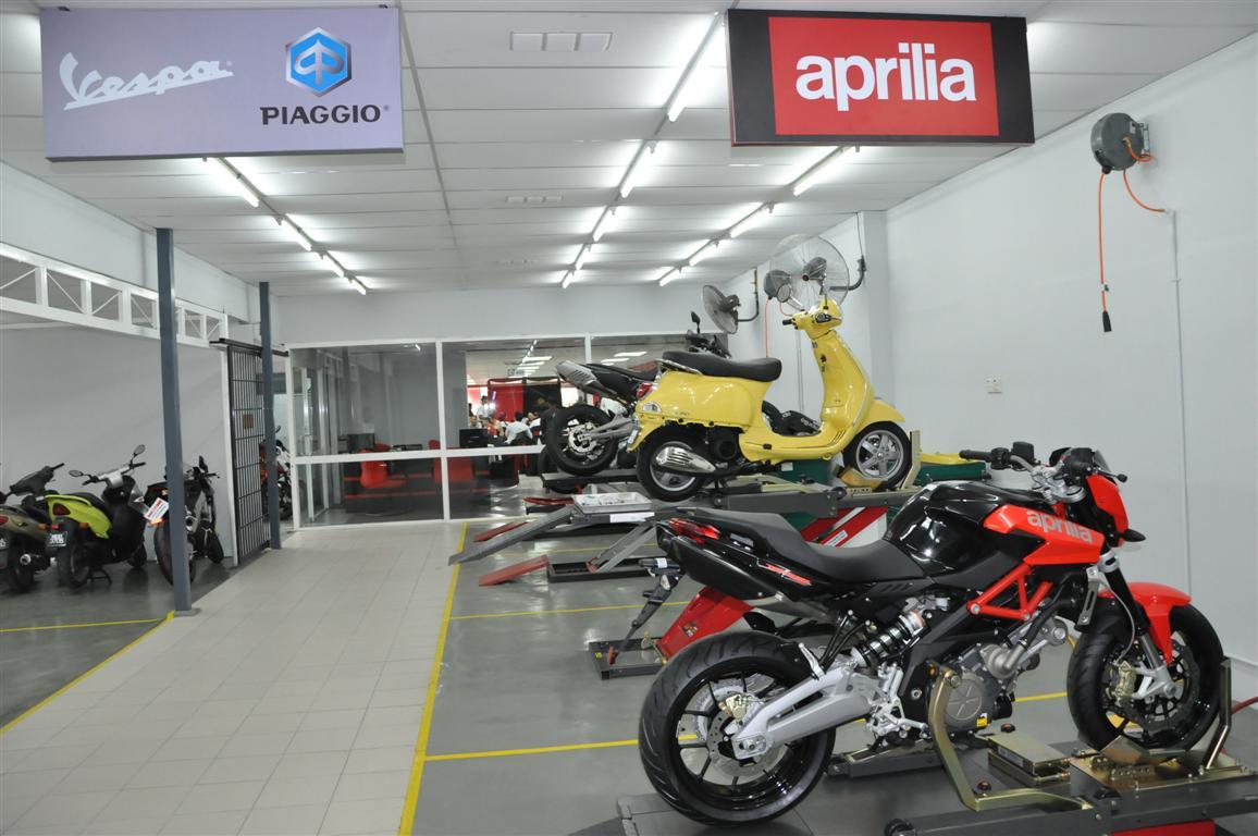 Сервис Aprilia, Vespa, Moto Guzzi, Piaggio