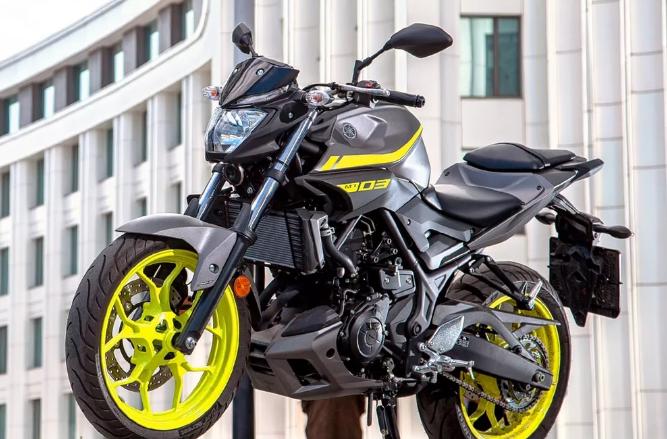 Аренда прокат мотоцикла Yamaha MT-03 ABS