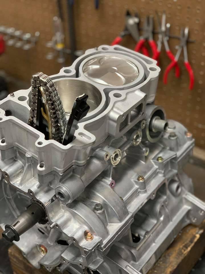 Ремонт двигуна квадроцикла Polaris
