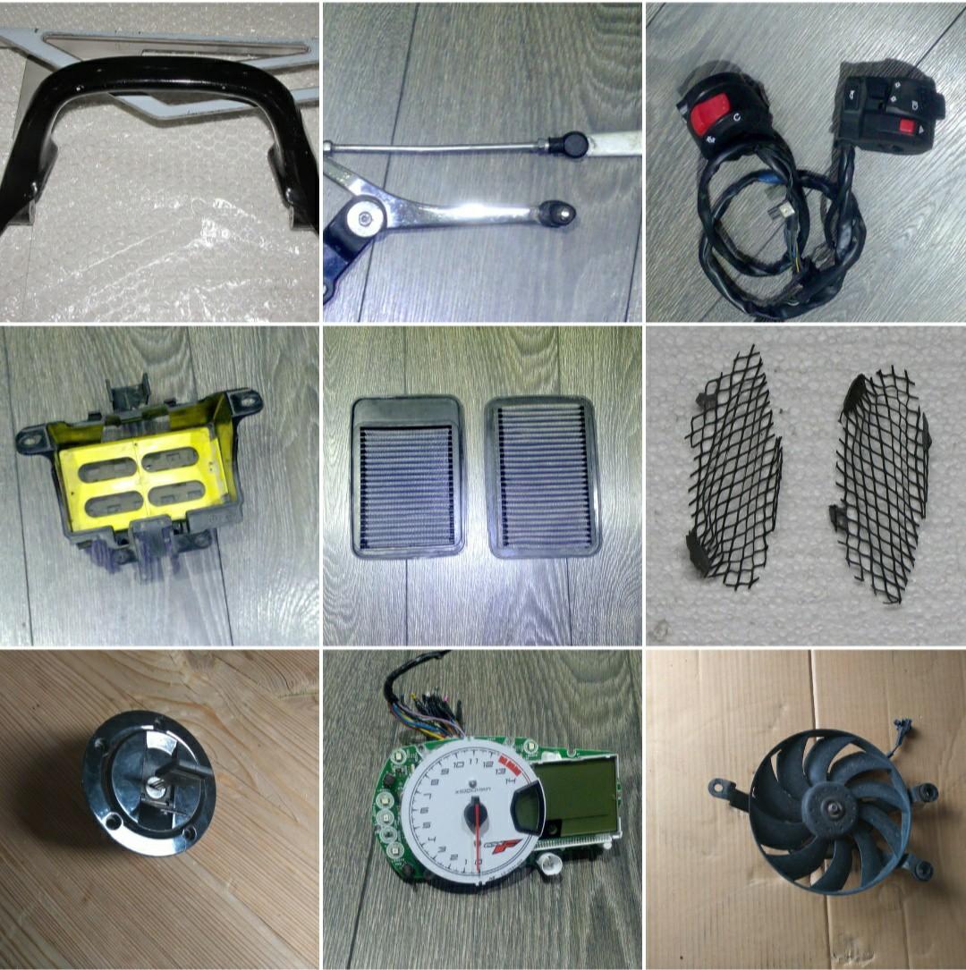 ЗАПЧАСТИ SUZUKI GSX1250FA GSX650F BANDIT GSF650 1250 1200