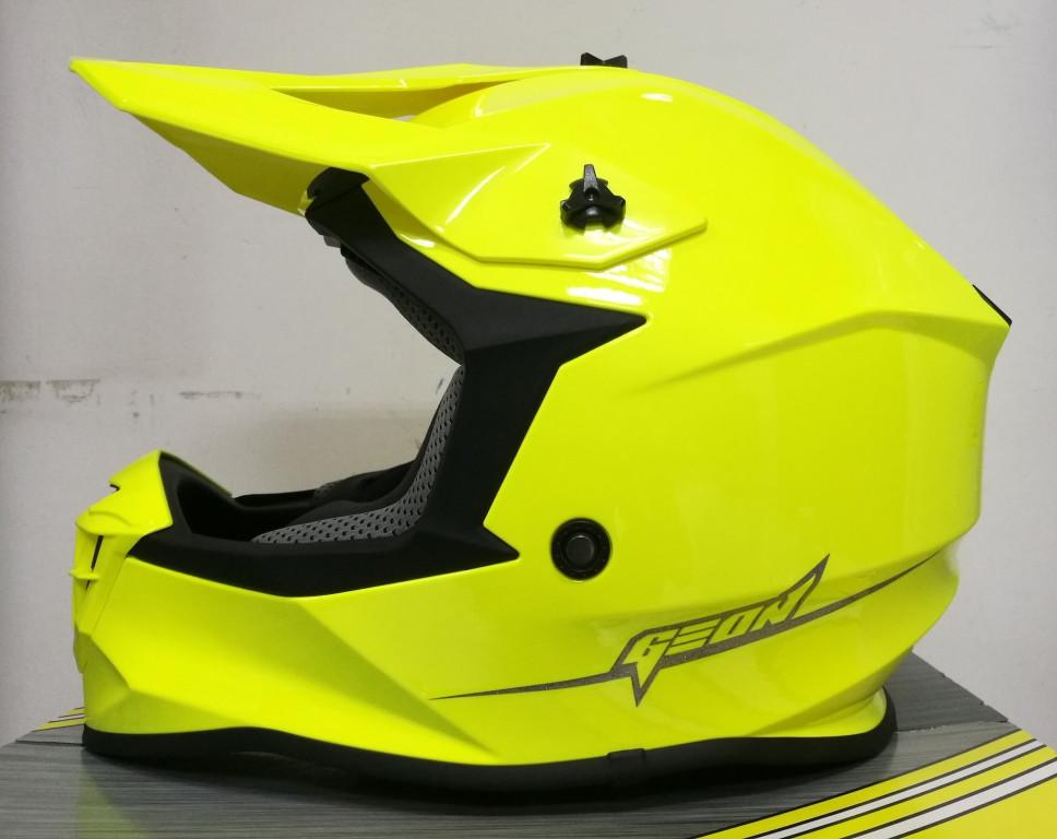 Шлем GEON 633 MX Крос Neon Yellow