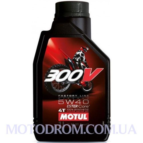 MOTUL 300V FACTORY LINE OFF ROAD SAE 5W40 1 літр