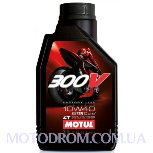 MOTUL 300V FACTORY LINE ROAD RACING SAE 10W40 1 літр