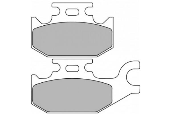Гальмівні колодки Delta DB2163OR-D