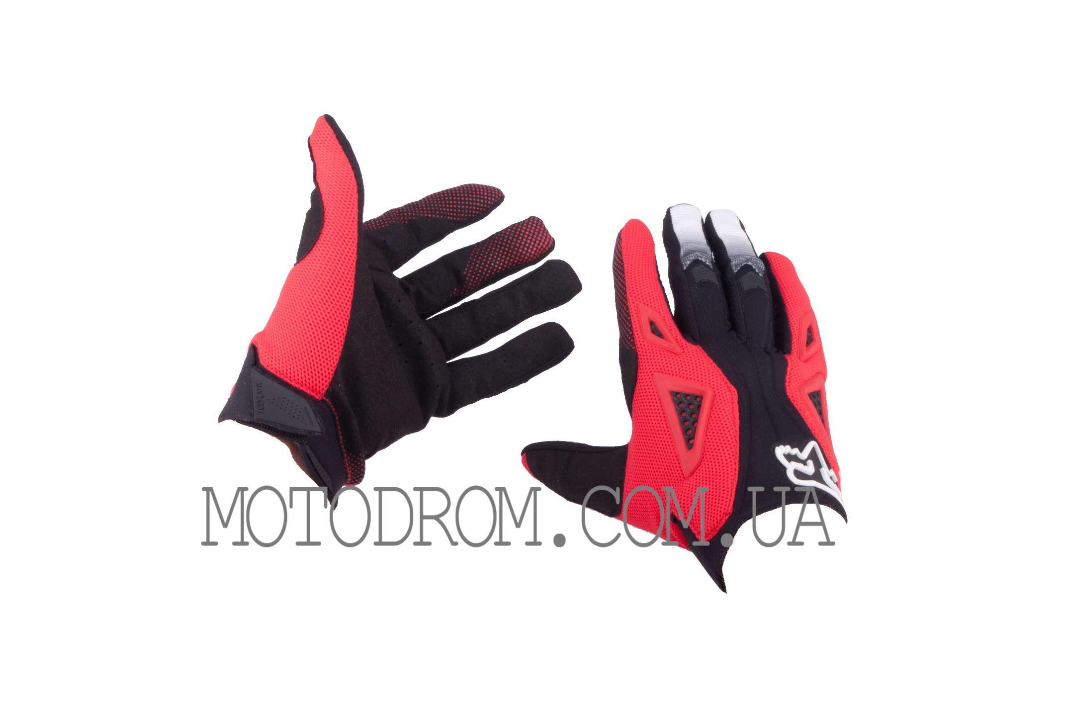 Перчатки DIRTPAW (mod:034, size:M, черно-красные) FOX