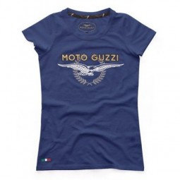 Футболка жіноча Moto Guzzi Femme Vittoria голубий