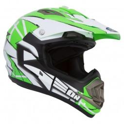 Шолом GEON 614 MX-Spirit Neon Зелений