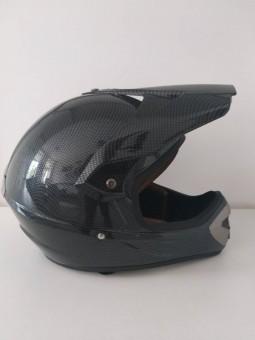 Шолом кросовий SNAUZER (mod:803) (size:XL, карбон)