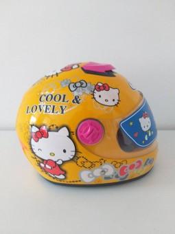 Шолом дитячий інтеграл FGN HELMET (COOL & LOVELY) (розовий, size:XXS).