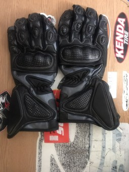 Дорожні рукавиці BOS чорні
