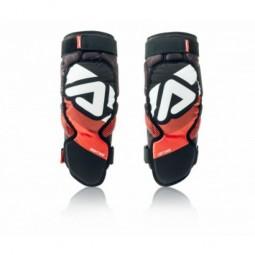 Захист колін дорослий ACERBIS SOFT 3.0 чорний-червоний