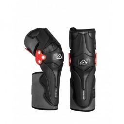Захист колін ACERBIS X-STRONG KNEE GUARD чорний-білий