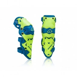 Захист колін ACERBIS GUARD IMPACT EVO 3.0 жовтий-синій