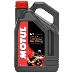 Масло для мотоцикла Motul 7100 20w50 (4 літри)