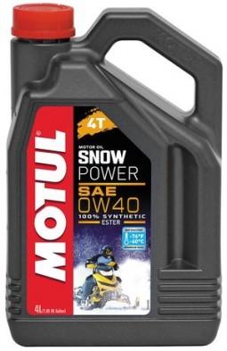 Масло для снігохода MOTUL SNOWPOWER 4T 0W-40 (4 літра)