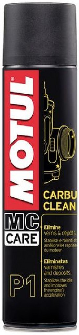 Очисник карбюратора для мотоциклів MOTUL CARBU CLEAN (400 мл)