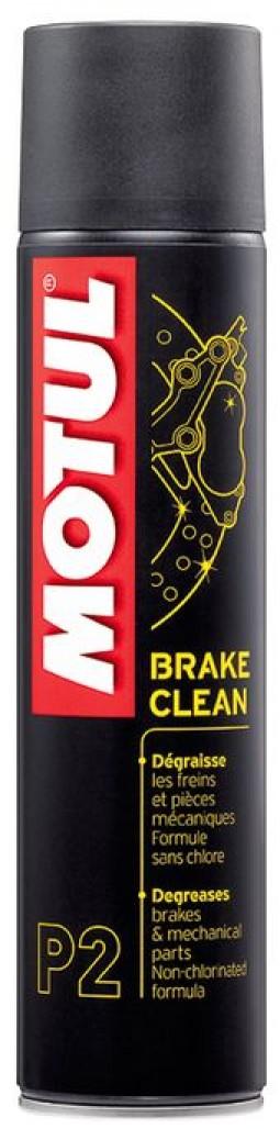 Знежирювач тормозних систем для мотоцикла MOTUL P2 BRAKE CLEAN (400мл)