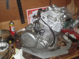 Разборка мотора honda nx650 dominator