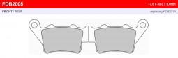 Комплект гальмівних колодок Ferodo Sintergrip (Offroad) для BMW F 650 GS (2008-2012)