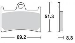 Гальмівні колодки передні Braking для YAMAHA FZS - Fazer | FZ 8 N  (2010-2015)