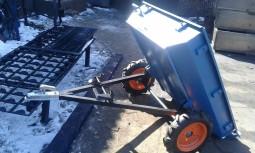 Прицеп для квадроциклов, мототрактора