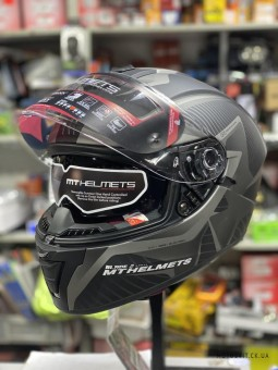 Мотошлем MT Helmets BLADE 2 SV BLASTER matt gray