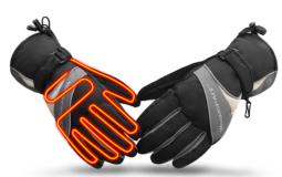 Перчатки с подогревом каждого пальца и ладони WARMSPACE P4
