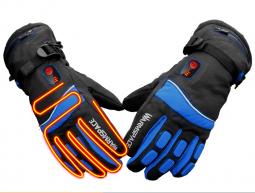 Лыжные перчатки с подогревом пальцев и ладони WARMSPACE-P3