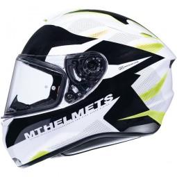 Мотошлем MT Helmets TARGO ENJOY gloss pearl yellow