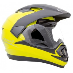 Шлем GEON 714 Дуал-Спорт Trek Yellow