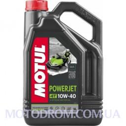 MOTUL POWERJET 4T SAE 10W40 4 літри