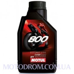 MOTUL 800V 2T FACTORY LINE ROAD RACING 1 літр