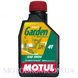 Масло для садової техніки MOTUL GARDEN 4T SAE 5W30 0.6 літри