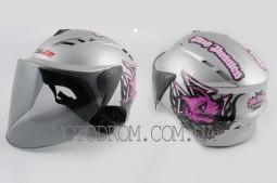 Шлем открытый PINK PUSSIES LS2