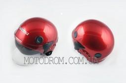 Шлем открытый (классическая форма, прозрачный визор) LS2