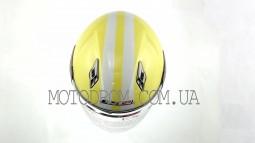 Шлем открытый (size:L, желтый) LS2