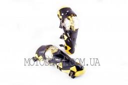 Щитки (наколенники, желтые) SCOYCO