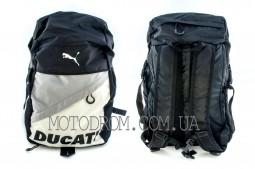 Рюкзак (бело-черный) DUCATI