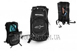Рюкзак ALPINESTARS (mod:B-5, гидратор, термобарьер, черно-бе