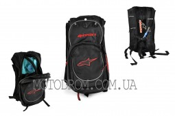 Рюкзак ALPINESTARS (mod:B-5, гидратор, термобарьер, черно-кр
