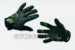 Перчатки FOX (mod:Monster energy, size:L, черно-белые)