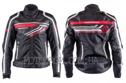 Мотокуртка SCOYCO (текстиль) (size:XL, черная, mod:JK37)