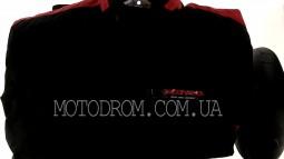 Мотокуртка SCOYCO (текстиль) (size:XXL, черно-красная, mod:J