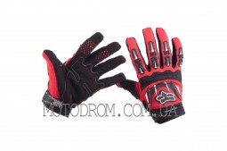 Перчатки FOX DIRTPAW (mod:027, size:M, красные)