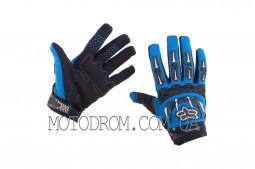 Перчатки FOX DIRTPAW (mod:027, size:M, синие)